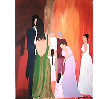 The Wedding - Acrylic Painting Photographic Print