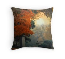Mt. Auburn Cemetery Throw Pillow