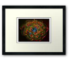 ©DA Marine Star Fractal Of Light I Framed Print