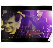 Peter Hook (& Tony Wilson) Poster
