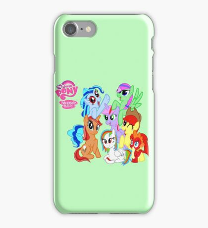 My little pony friendship is magic! iPhone Case/Skin