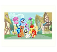 My little pony friendship is magic! Art Print