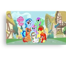 My little pony friendship is magic! Canvas Print