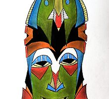 Mask by Lawrence Pitts