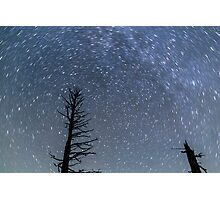 Star Trails at Bryce Canyon Photographic Print