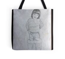 Libby in Ugg boots Tote Bag