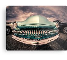 Happy Grill Metal Print