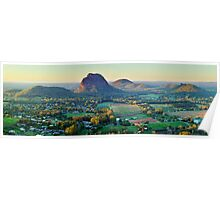 Glasshouse Mountains, Queensland, Australia Poster