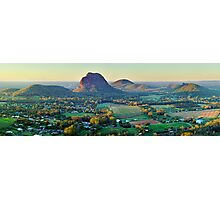 Glasshouse Mountains, Queensland, Australia Photographic Print