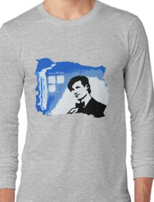 Mad Man In A Blue Box  Long Sleeve T-Shirt