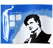 Mad Man In A Blue Box  Poster