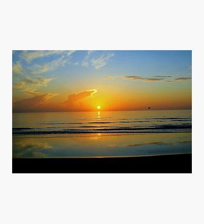 Sunrise at Flagler Beach, Florida Photographic Print