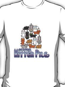 Super Kitten Pile (Logo) T-Shirt