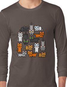 Super Kitten Pile (Just Cats) Long Sleeve T-Shirt