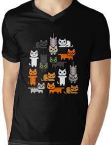 Super Kitten Pile (Just Cats) Mens V-Neck T-Shirt