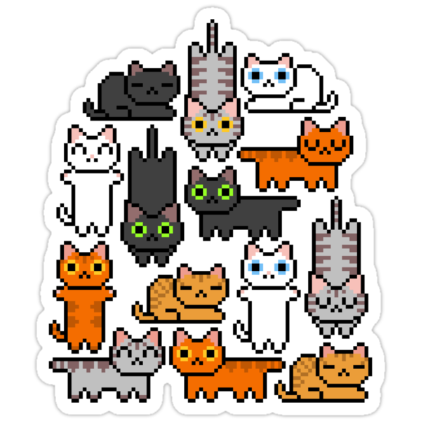 Super Kitten Pile (Just Cats) by vgjunk
