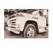 Truck. Art Print