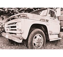 Truck. Photographic Print