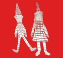 Holly Jolly Christmas Elves One Piece - Short Sleeve