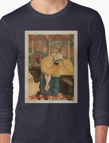 Vintage poster - A Night at the Circus Long Sleeve T-Shirt