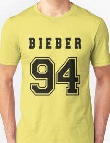 BIEBER - 94 // Black Text T-Shirt
