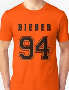 BIEBER - 94 // Black Text T-Shirt