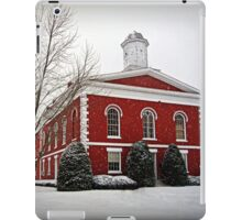 Iron County Courthouse in the Snow iPad Case/Skin