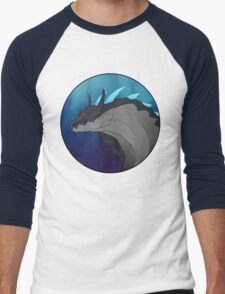 Abyssal Lagiacrus Portrait Men's Baseball ¾ T-Shirt
