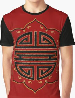 Semicolon; Lotus Flower   Graphic T-Shirt