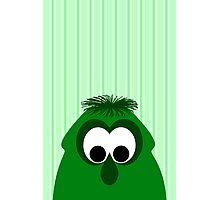 Silly Little Dark Green Monster Photographic Print