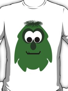 Silly Little Dark Green Monster T-Shirt