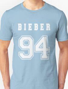 BIEBER - 94 // White Text T-Shirt