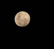 super moon by Eunice Atkins