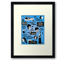 Merlin Quotes Framed Print