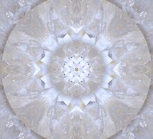 Clear Crystal Quartz Mandala by haymelter