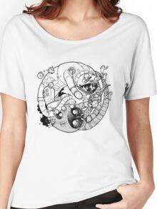 The Yin-Yang Robo Fight! Women's Relaxed Fit T-Shirt