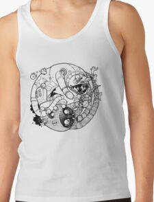 The Yin-Yang Robo Fight! Tank Top