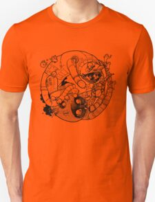 The Yin-Yang Robo Fight! Unisex T-Shirt