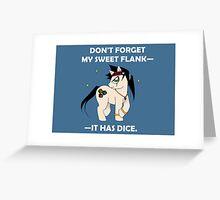 Duke Pony Greeting Card