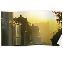 Pacific Misty Morning Poster