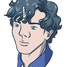 Unicorn Sherlock (Black) by Dralore