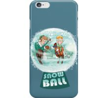 snow ball iPhone Case/Skin