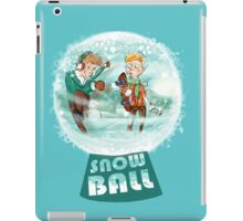 snow ball iPad Case/Skin