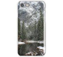 Winter river part 2 iPhone Case/Skin