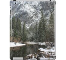 Winter river part 2 iPad Case/Skin