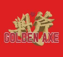 Golden Axe Logo One Piece - Short Sleeve