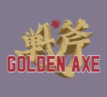 Golden Axe Logo Kids Tee