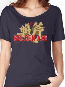 Golden Axe Logo Women's Relaxed Fit T-Shirt