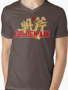 Golden Axe Logo Mens V-Neck T-Shirt