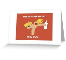 Joey Pony Greeting Card
